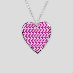 Pink Triskelion Necklace