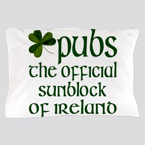 Irish Sunblock Pillow Case