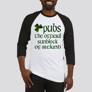 Irish Sunblock Baseball Jersey