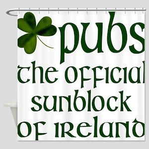 Irish Sunblock Shower Curtain