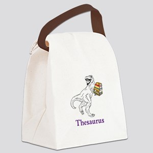 Thesaurus Canvas Lunch Bag