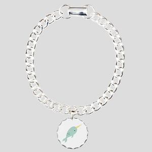 Narwhal Sea Whale Animal Bracelet