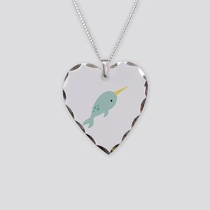 Narwhal Sea Whale Animal Necklace