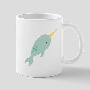 Narwhal Sea Whale Animal Mugs