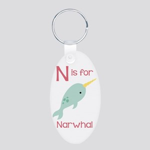 N Is For Narwhal Keychains