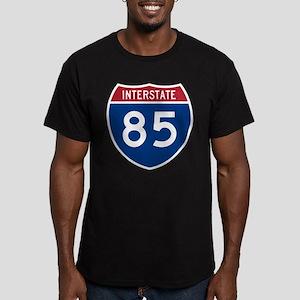 Interstate 85 Black T-Shirt