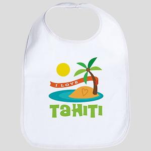 I Love Tahiti Bib