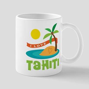 I Love Tahiti Mug