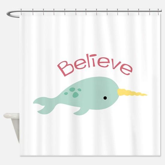 Believe Shower Curtain