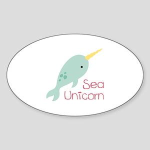 Sea Unicorn Sticker