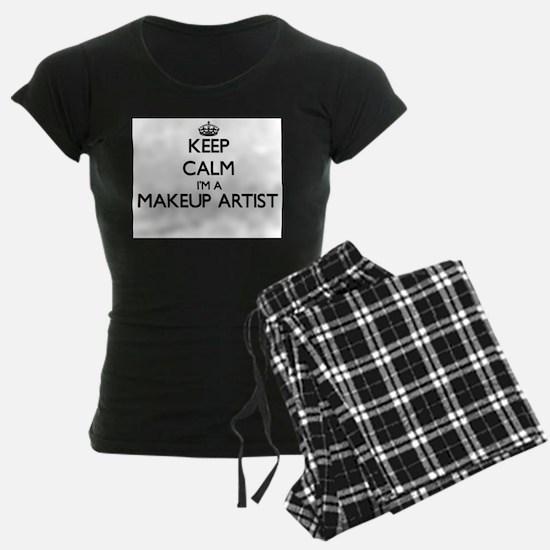 Keep calm I'm a Makeup Artist Pajamas