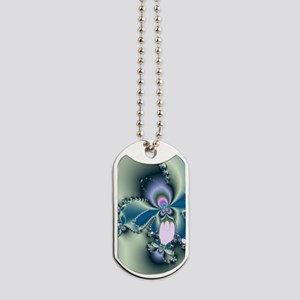 Easter Orchid Dog Tags
