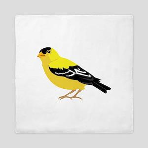American Goldfinch Queen Duvet