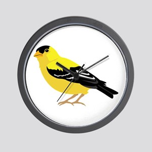 American Goldfinch Wall Clock