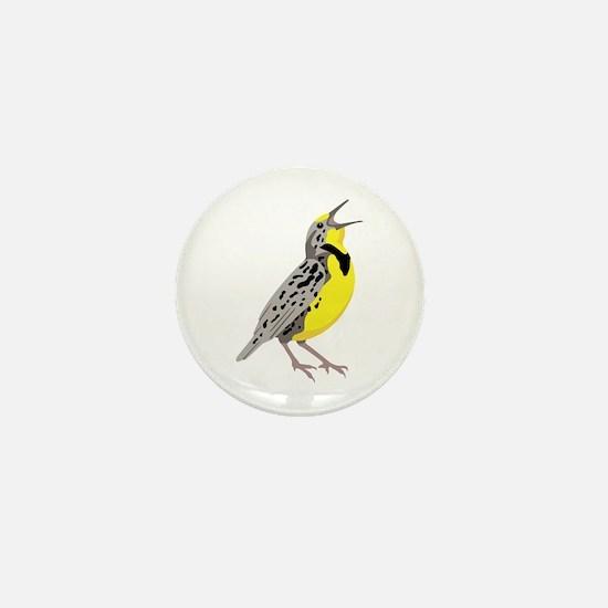 Western Meadowlark Mini Button