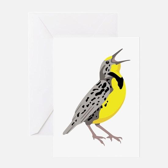 Western Meadowlark Greeting Cards