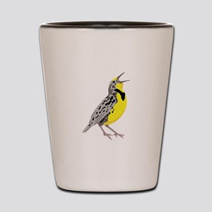 Western Meadowlark Shot Glass