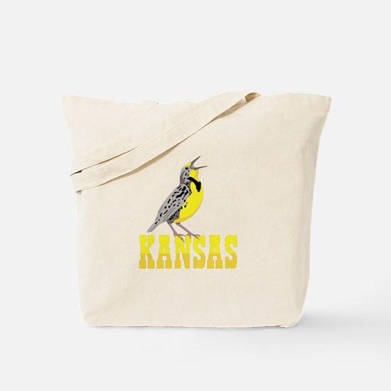 KANSAS Meadowlark Tote Bag