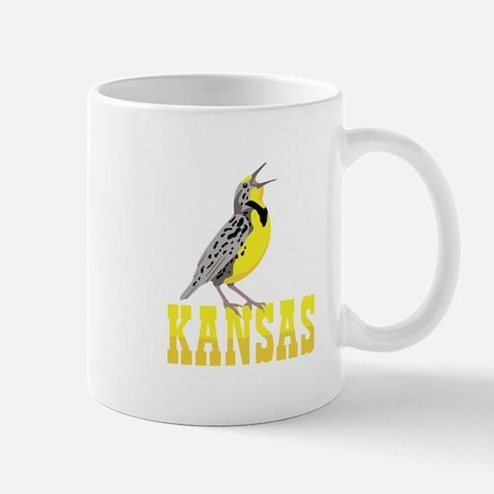 KANSAS Meadowlark Mugs