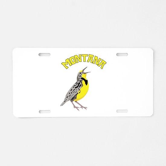 MONTANA Meadowlark Aluminum License Plate