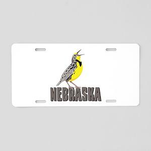 NEBRASKA Meadowlark Aluminum License Plate