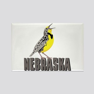 NEBRASKA Meadowlark Magnets