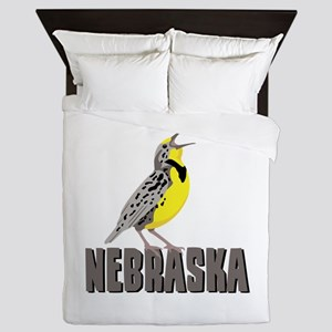 NEBRASKA Meadowlark Queen Duvet