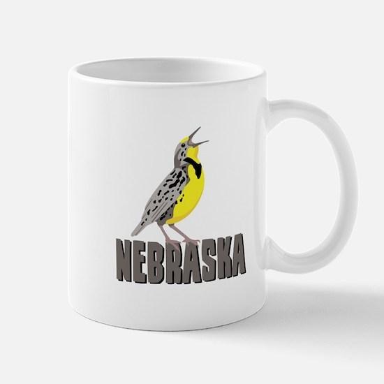 NEBRASKA Meadowlark Mugs