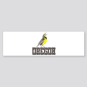 OREGON Meadowlark Bumper Sticker