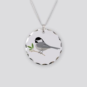Black-Capped Chickadee Necklace