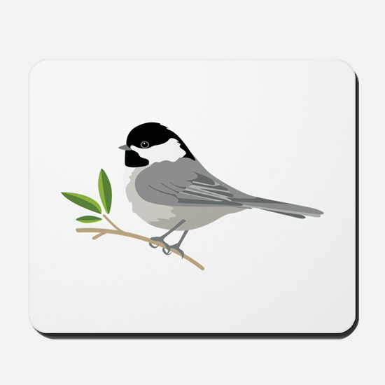 Black-Capped Chickadee Mousepad