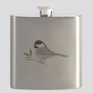 Black-Capped Chickadee Flask