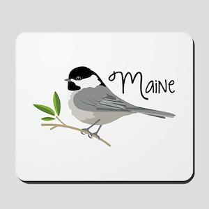 maiNe Chickadee Mousepad
