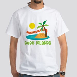 I Love The Cook Islands White T-Shirt