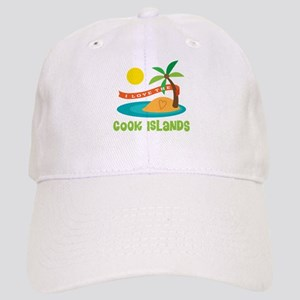 I Love The Cook Islands Cap