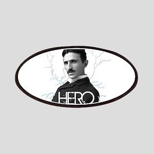 HERO. - Nikola Tesla Patches