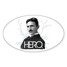 HERO. - Nikola Tesla Sticker