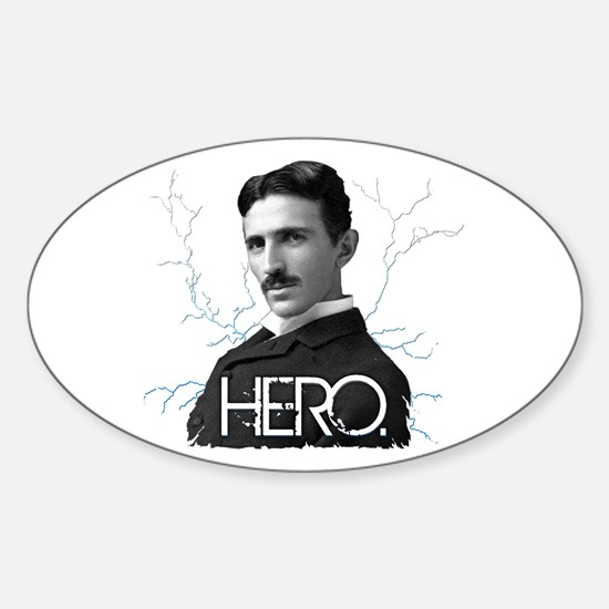 HERO. - Nikola Tesla Decal