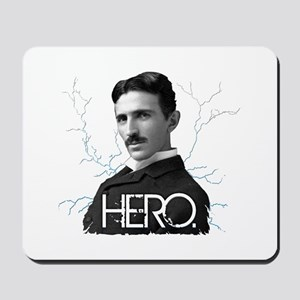 HERO. - Nikola Tesla Mousepad