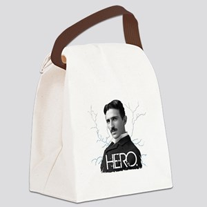 HERO. - Nikola Tesla Canvas Lunch Bag