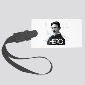 HERO. - Nikola Tesla Luggage Tag