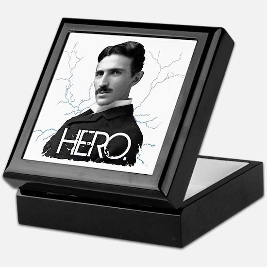HERO. - Nikola Tesla Keepsake Box