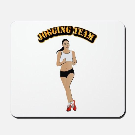 Jogging Team Mousepad