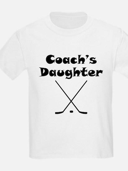 Hockey Coachs Daughter T-Shirt