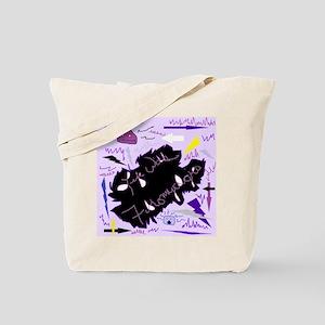 Life With Fibromyalgia Tote Bag