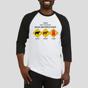 Gummi Bear Warning - Tahoe Baseball Jersey