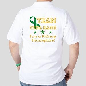 Faith,Hope,Love For A Kidney Transplant Golf Shirt