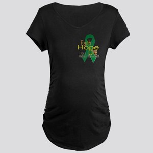 Faith,Hope,Love For A Maternity Dark T-Shirt