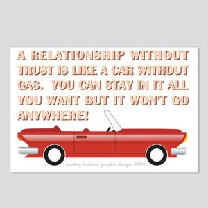 A RELATIONSHIP WITHOUT TR Postcards (Package of 8)