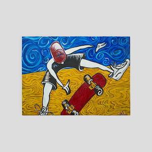 Halfpipe Skater 2 5'x7'Area Rug